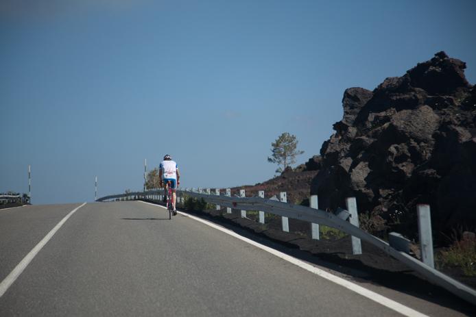 Afdaling Etna