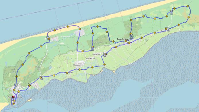 Route Berenloop